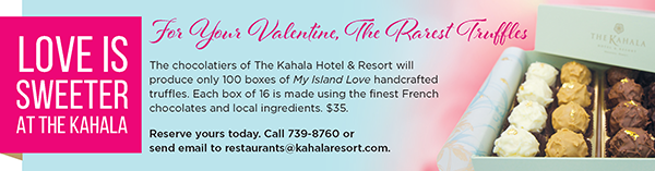 Chocolate Truffles At The Kahala